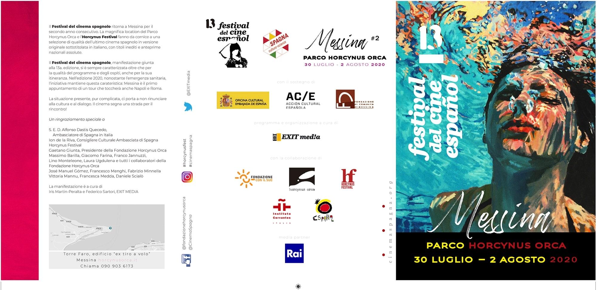 Il Programma di CinemaSpagna a Messina / 2020