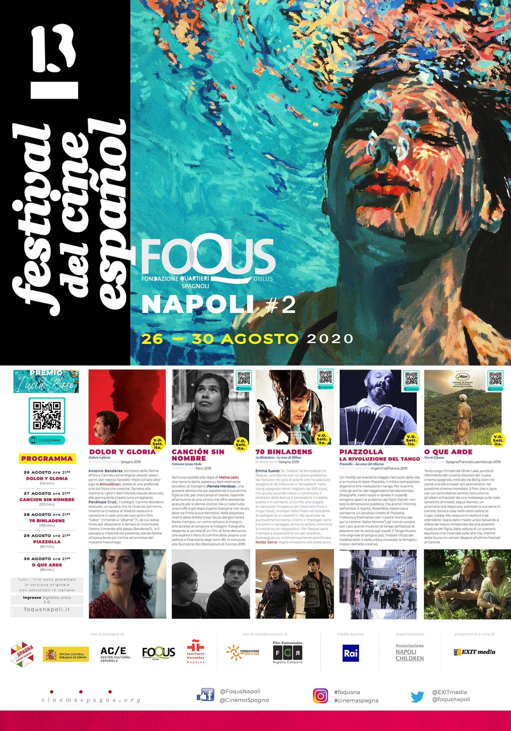 Il Programma di CinemaSpagna a Napoli / 2020