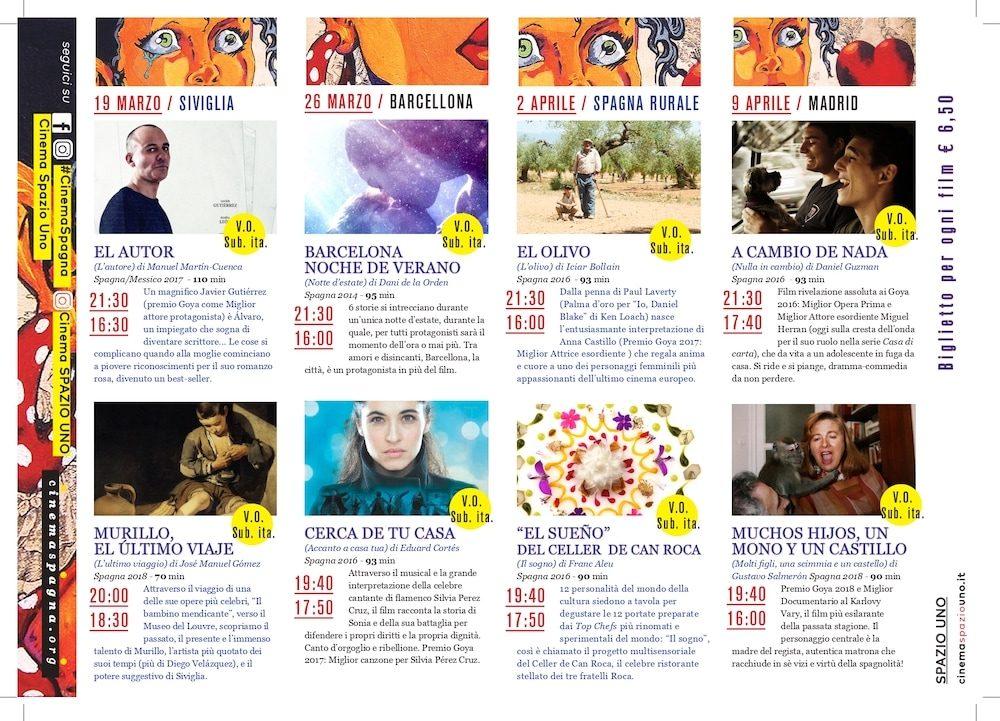 Il Programma di CinemaSpagna a Firenze / 2019