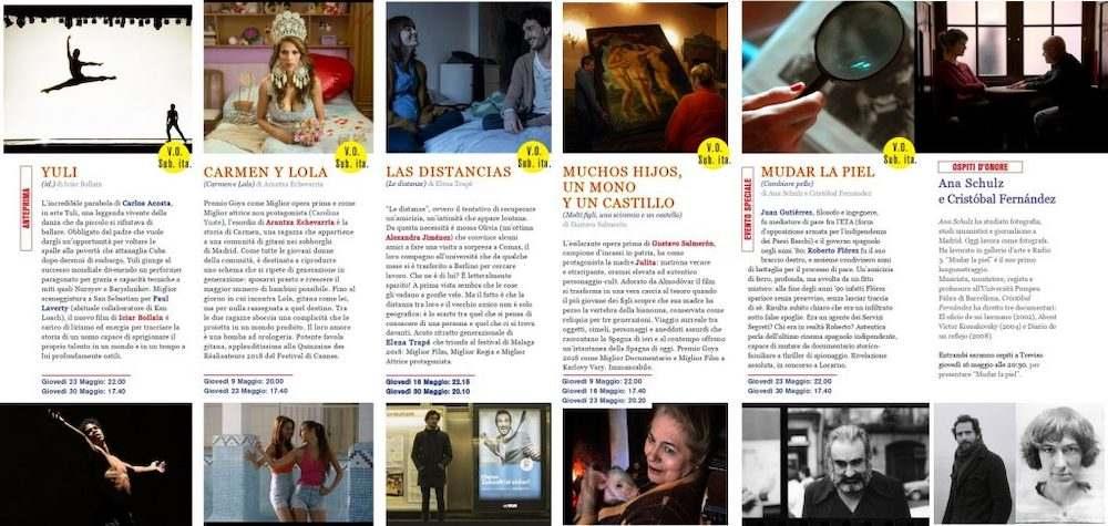 Il Programma di CinemaSpagna a Treviso / 2019