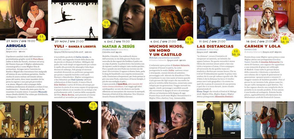 Il Programma di CinemaSpagna a Cagliari / 2019