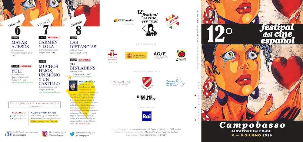 Il Programma di CinemaSpagna a Campobasso / 2019