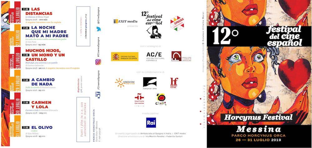 Il Programma di CinemaSpagna a Messina / 2019
