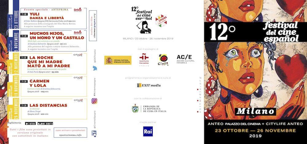 Il Programma di CinemaSpagna a Milano / 2019