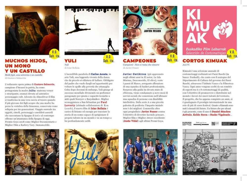 Il Programma di CinemaSpagna a Napoli / 2019