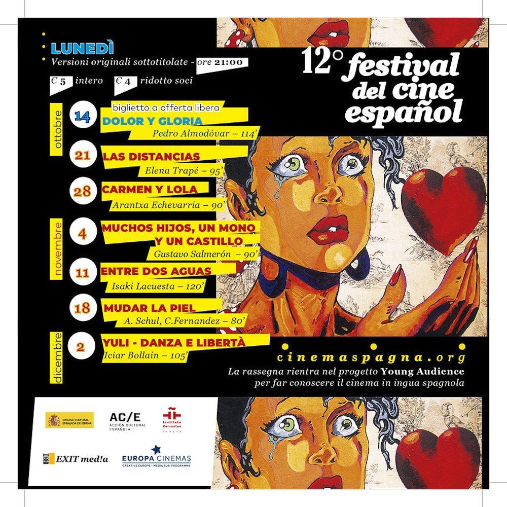 Il Programma di CinemaSpagna a Padova / 2019