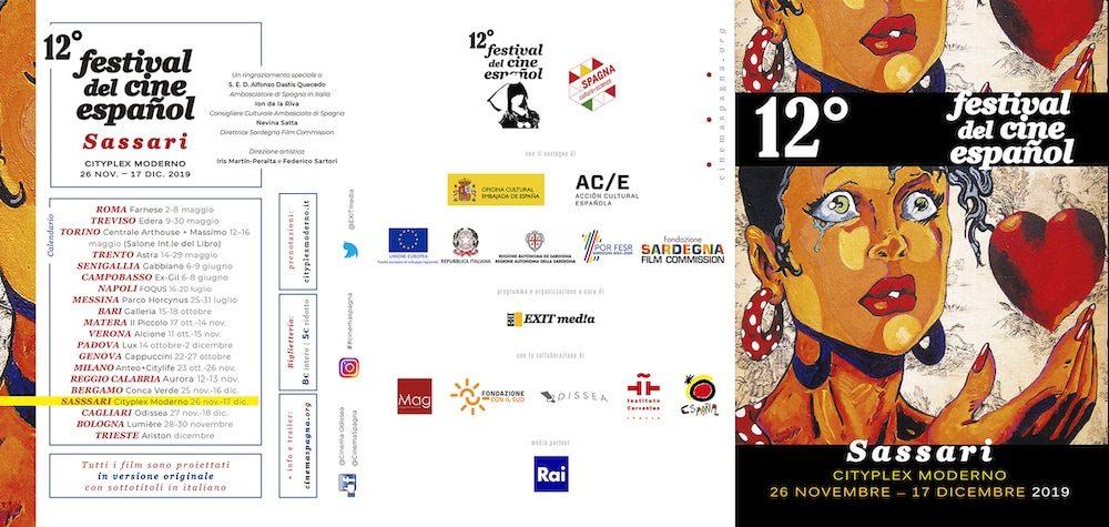 Il Programma di CinemaSpagna a Sassari / 2019