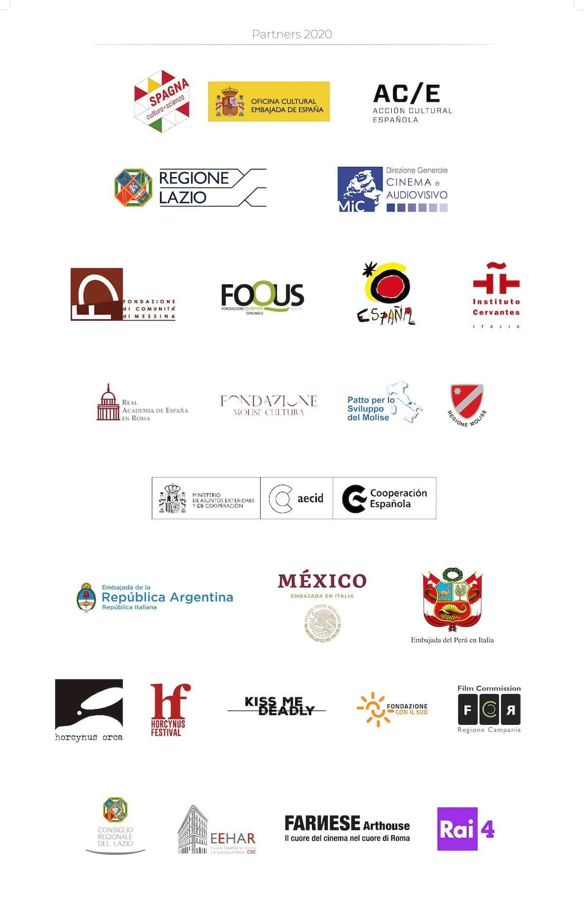 Partner di CinemaSpagna 2020